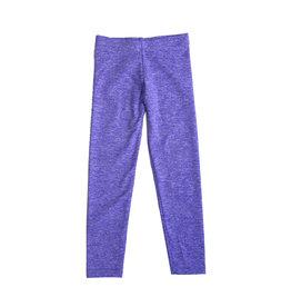 Dori Creations Violet/White Heathered Legging