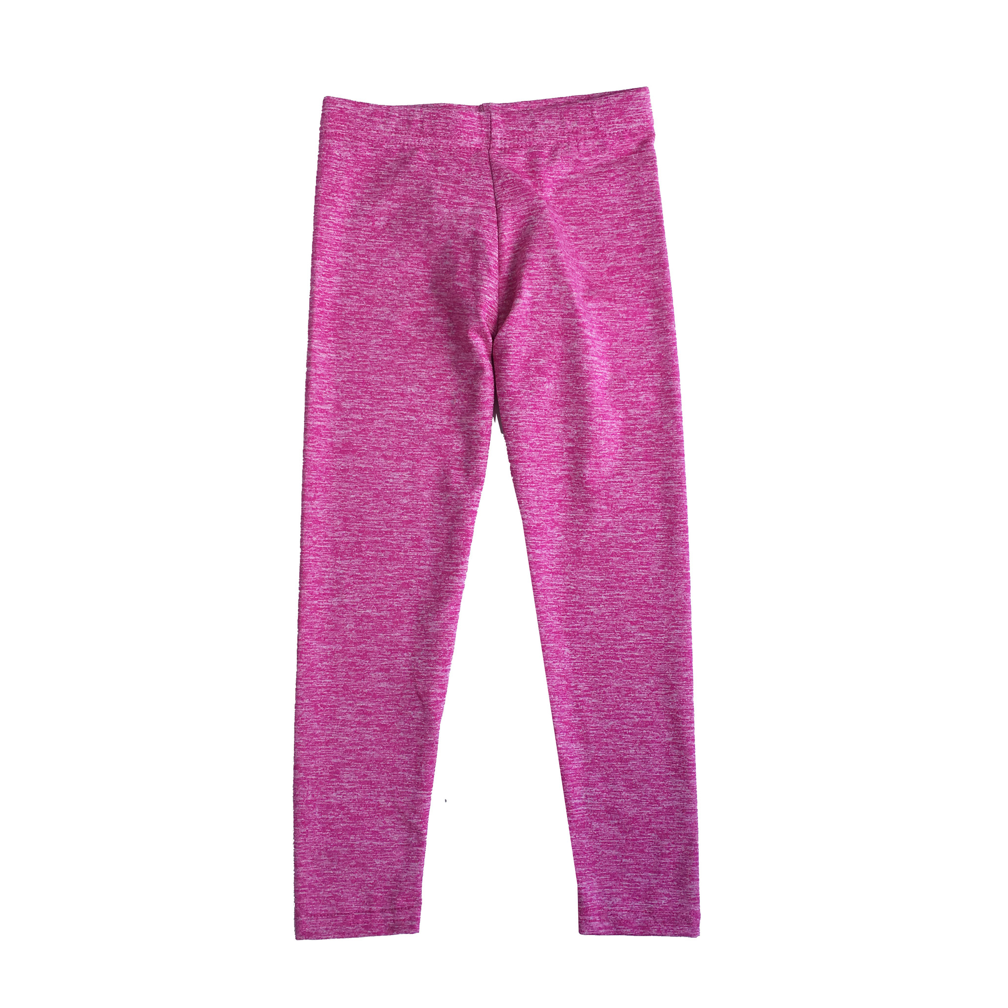 Dori Creations Pink/White Heathered Legging
