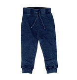 Mish Blue Distressed Denim Infant Joggers