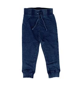 Mish Blue Distressed Denim Infant Joggers