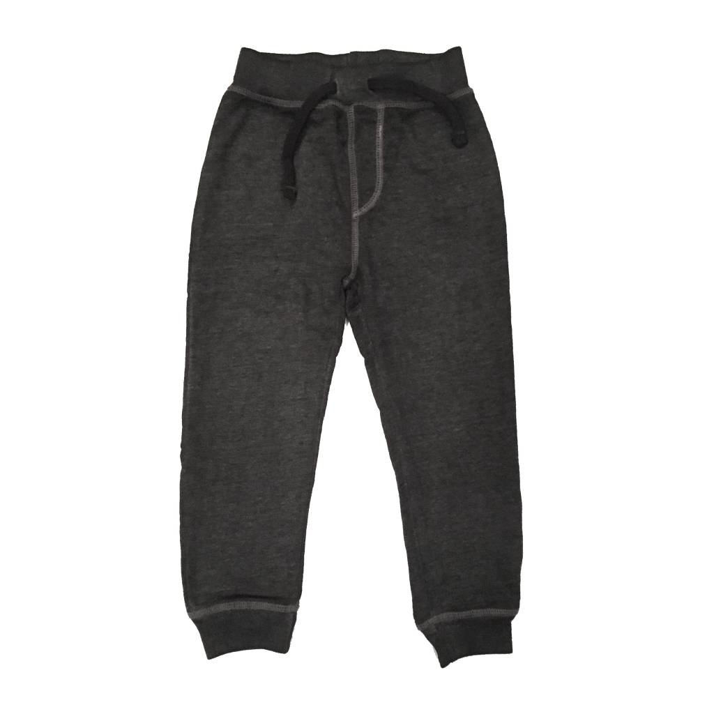 Mish Distressed Black Infant Joggers