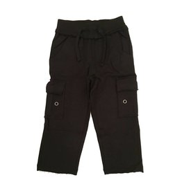Mish Black Infant Cargo Pant