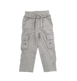 Mish Heather Grey Infant Cargo Pant