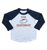 Chaser Star Quarterback Baseball Top