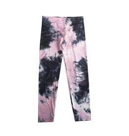 Dori Creations Pink Tie Dye Legging