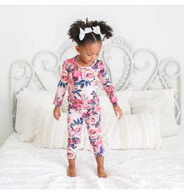 Posh Peanut Dusk Rose Two Piece Loungewear Set