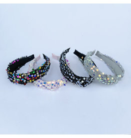 Girls Sequin Knotted Headband (4 Styles)