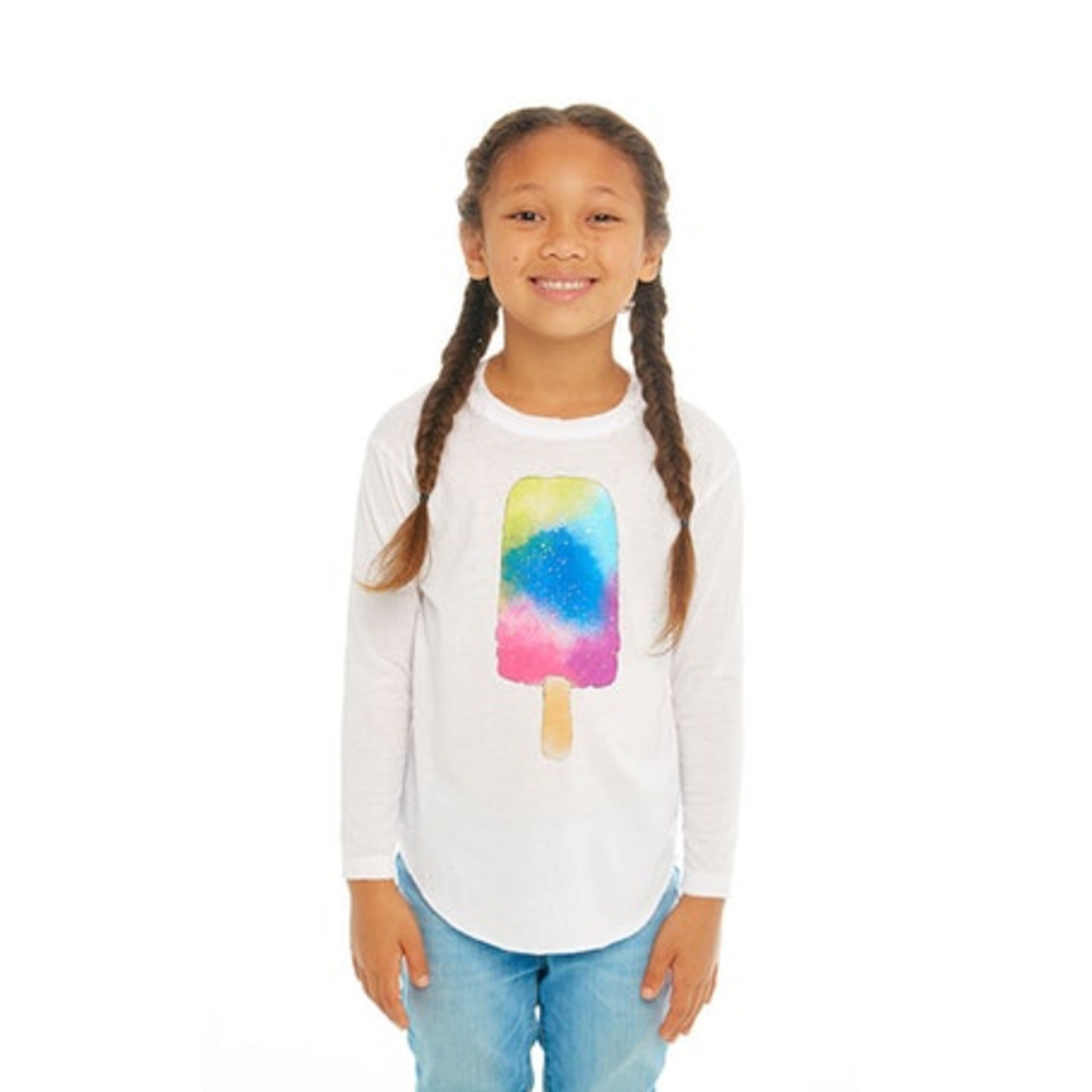 Chaser Watercolor Popsicle Top