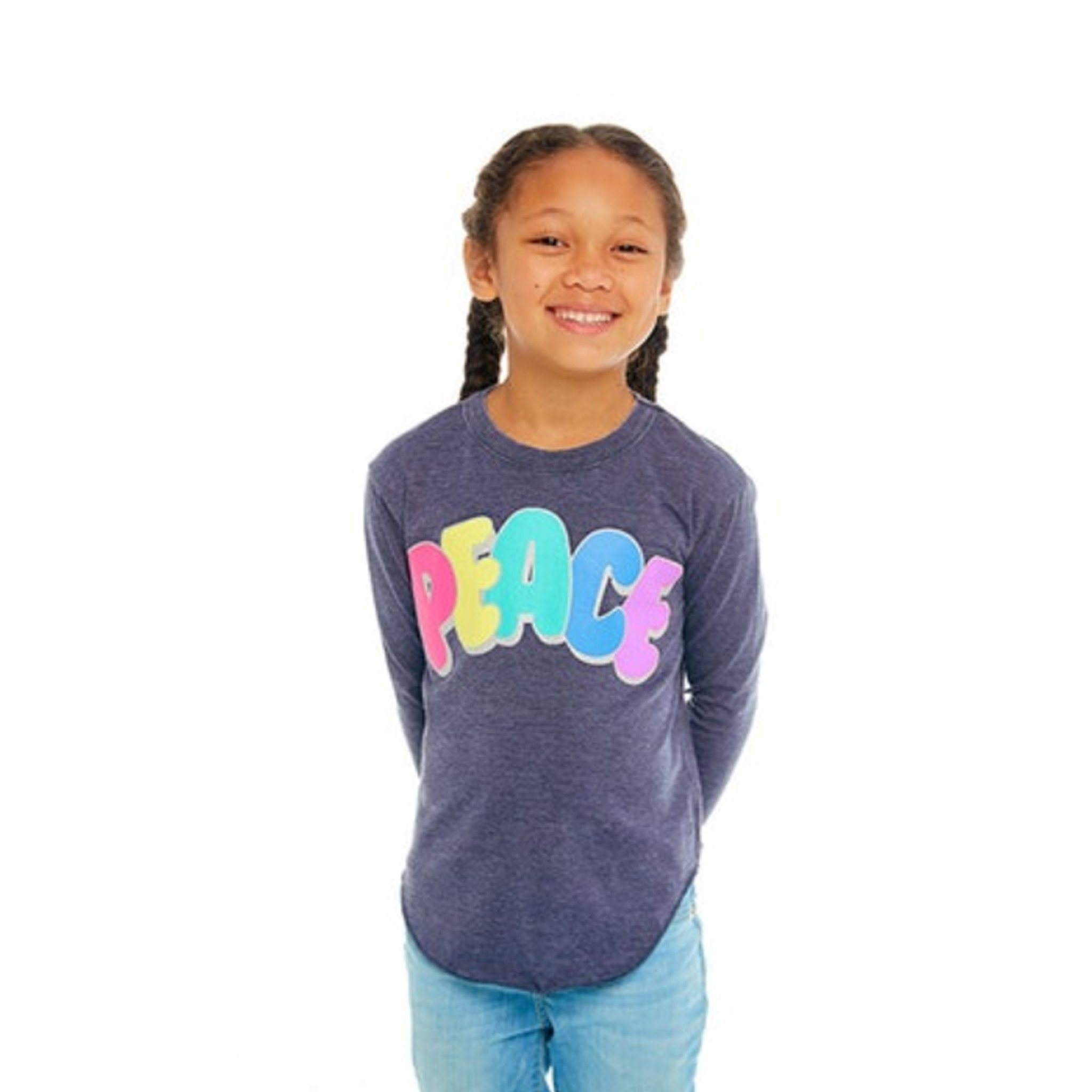Chaser Glitter Peace Top