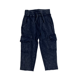 Mish Infant Navy Enzyme Cargo Pants
