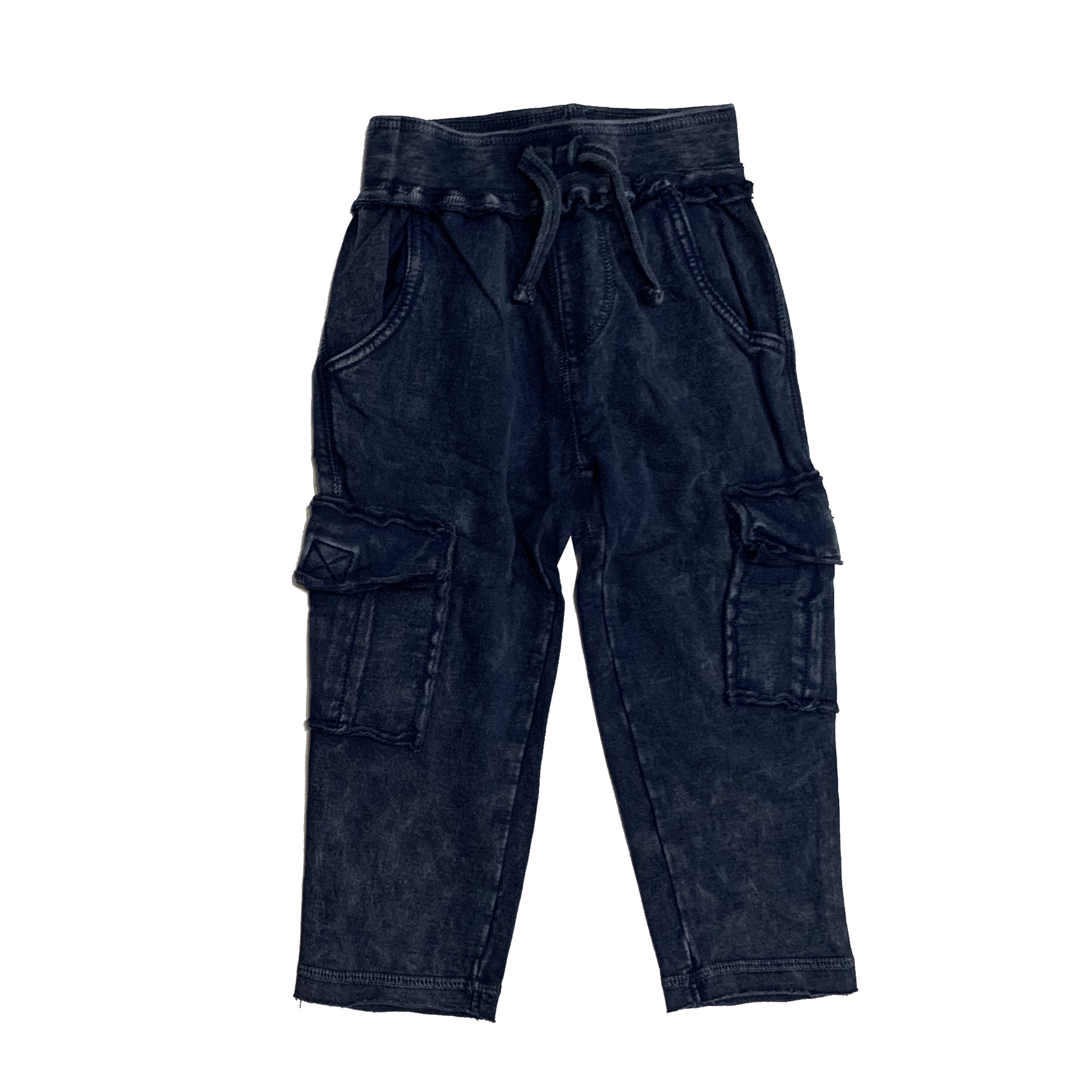 Mish Navy Enzyme Cargo Pants