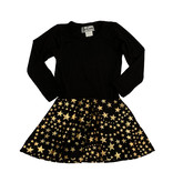 Dori Creations Gold Star Dress