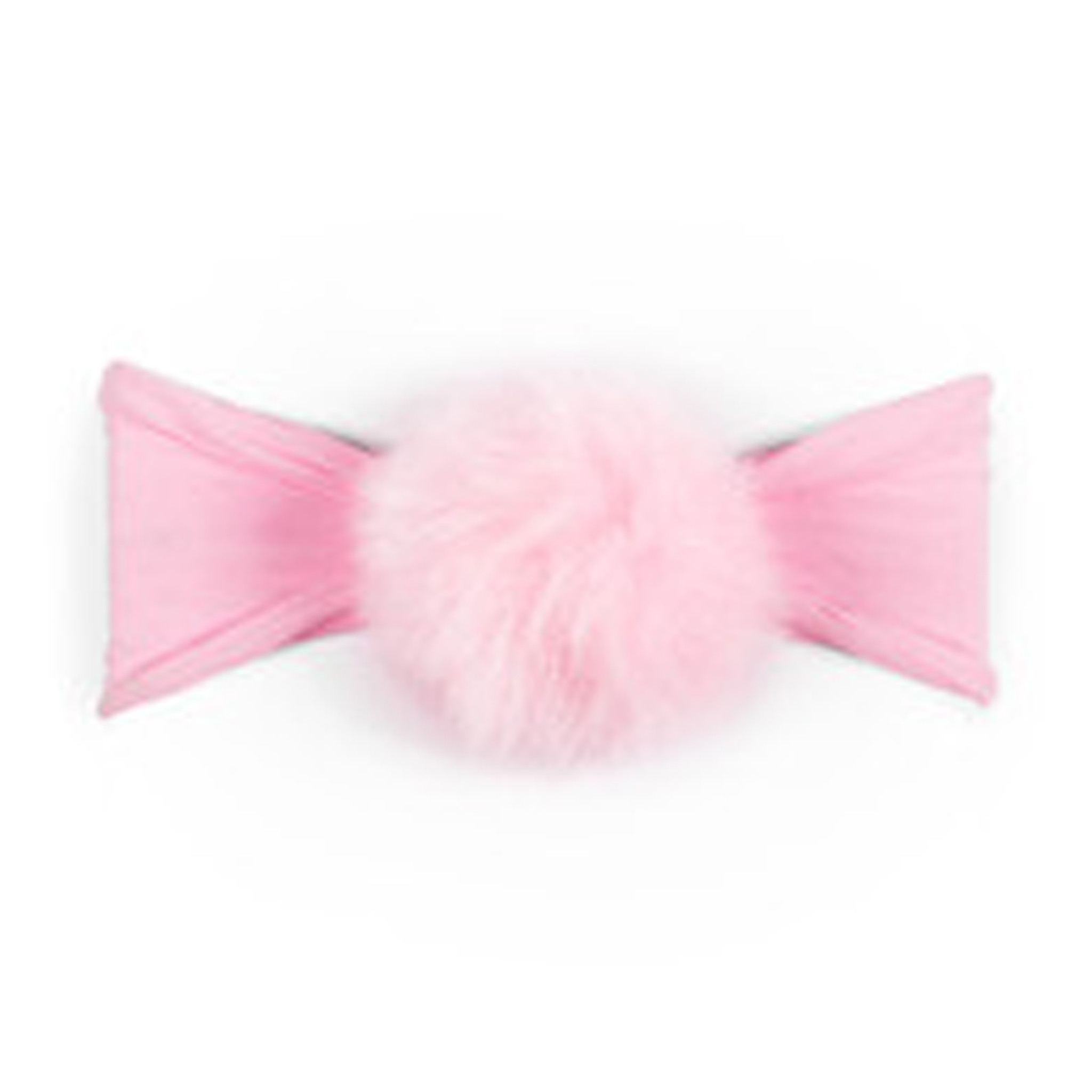 Baby Bling Fur Pom Headband