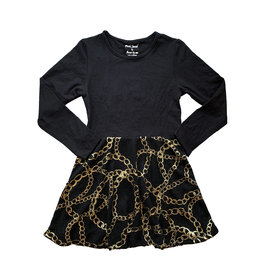 Flowers by Zoe Gold Chains Dress
