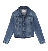 DL1961 Frayed Edge Denim Jacket