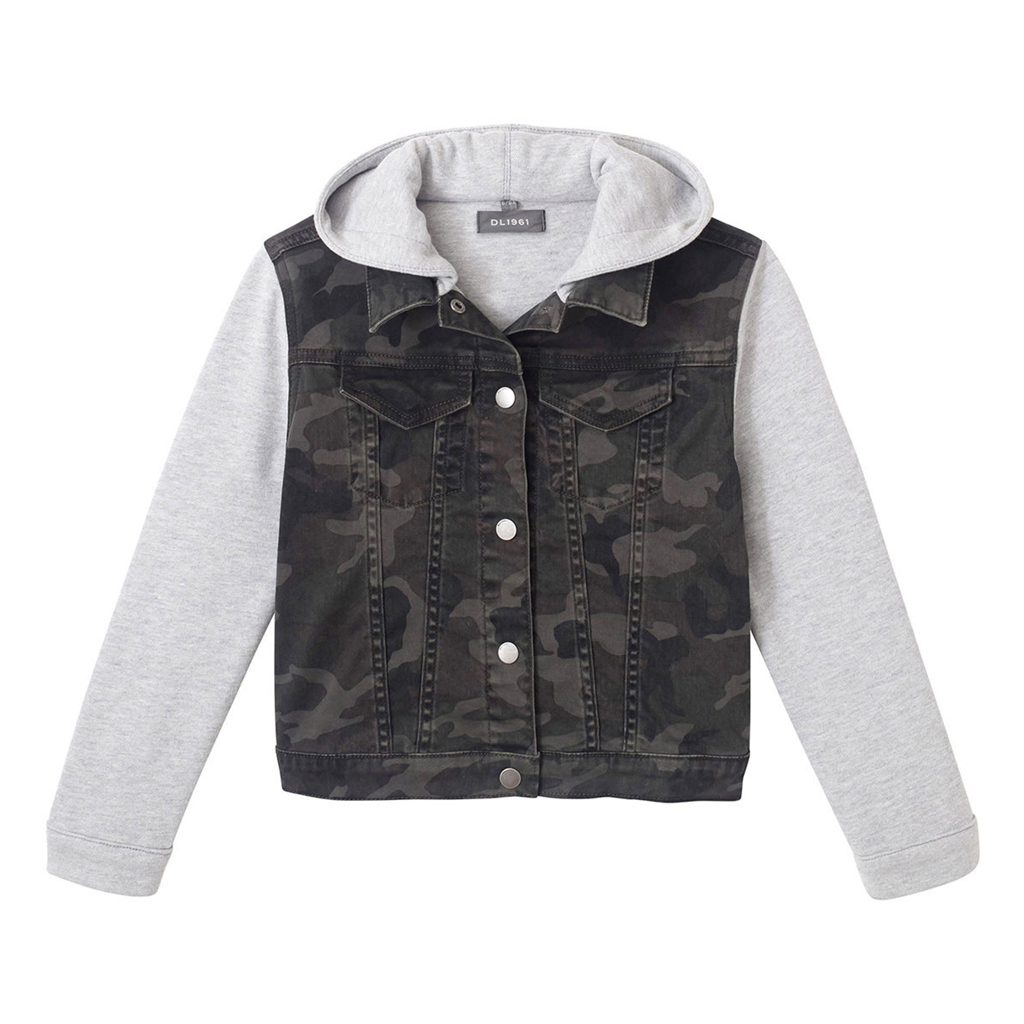 DL1961 Camo Print Jacket