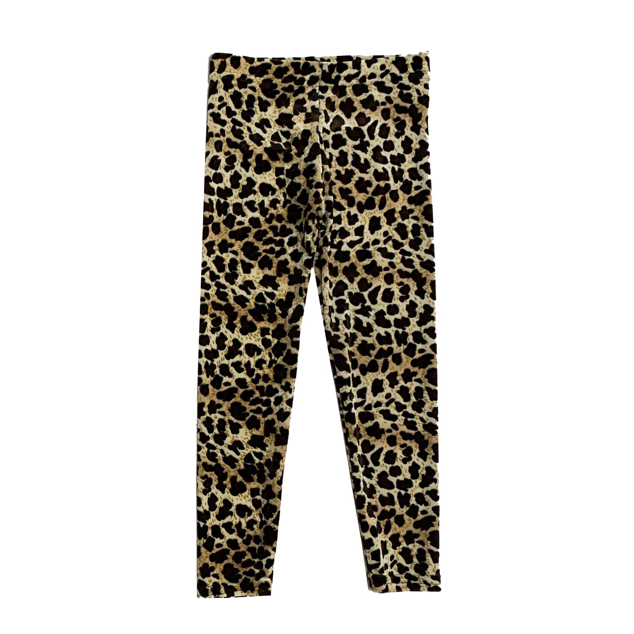 Dori Creations Leopard Velour Legging