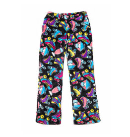 Candy Pink Roller Derby Plush Lounge Pants