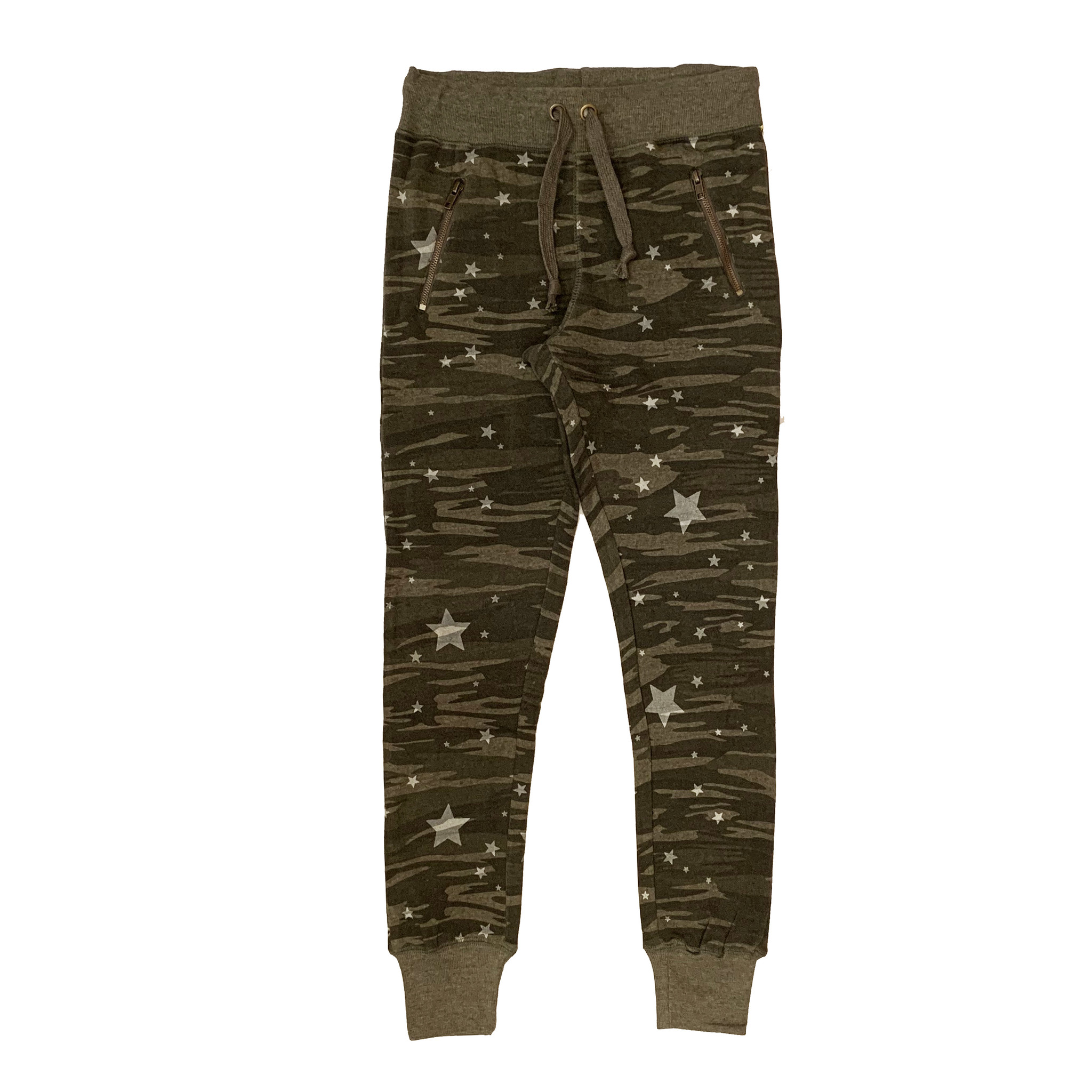 Vintage Havana Junior Olive Camo Jogger with Stars