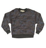 Vintage Havana Junior Camo Reverse Burnout Sweatshirt