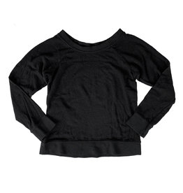 Project Riot Black Hacci Sweatshirt