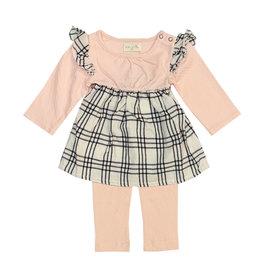 Miki Miette Infant Plaid Legging Set