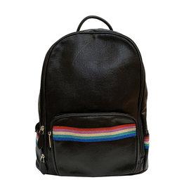 Bari Lynn Rainbow Sparkle Backpack