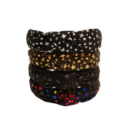 Girls Metallic Stars Knotted Headbands