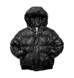 Appaman Silver Hearts Puffy Coat