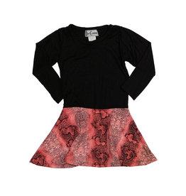 Dori Creations Pink Snake Dress