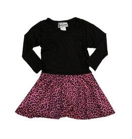 Dori Creations Pink Leopard Dress