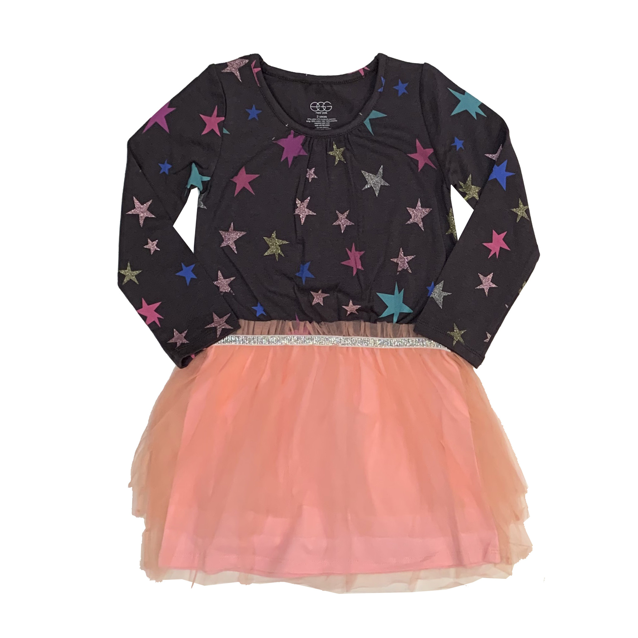 EGG Infant Sparkle Star Tutu Dress