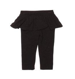 Joah Love Black Infant Ruffle Leggings