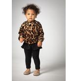 Joah Love Leopard Velour Ruffle Legging Set
