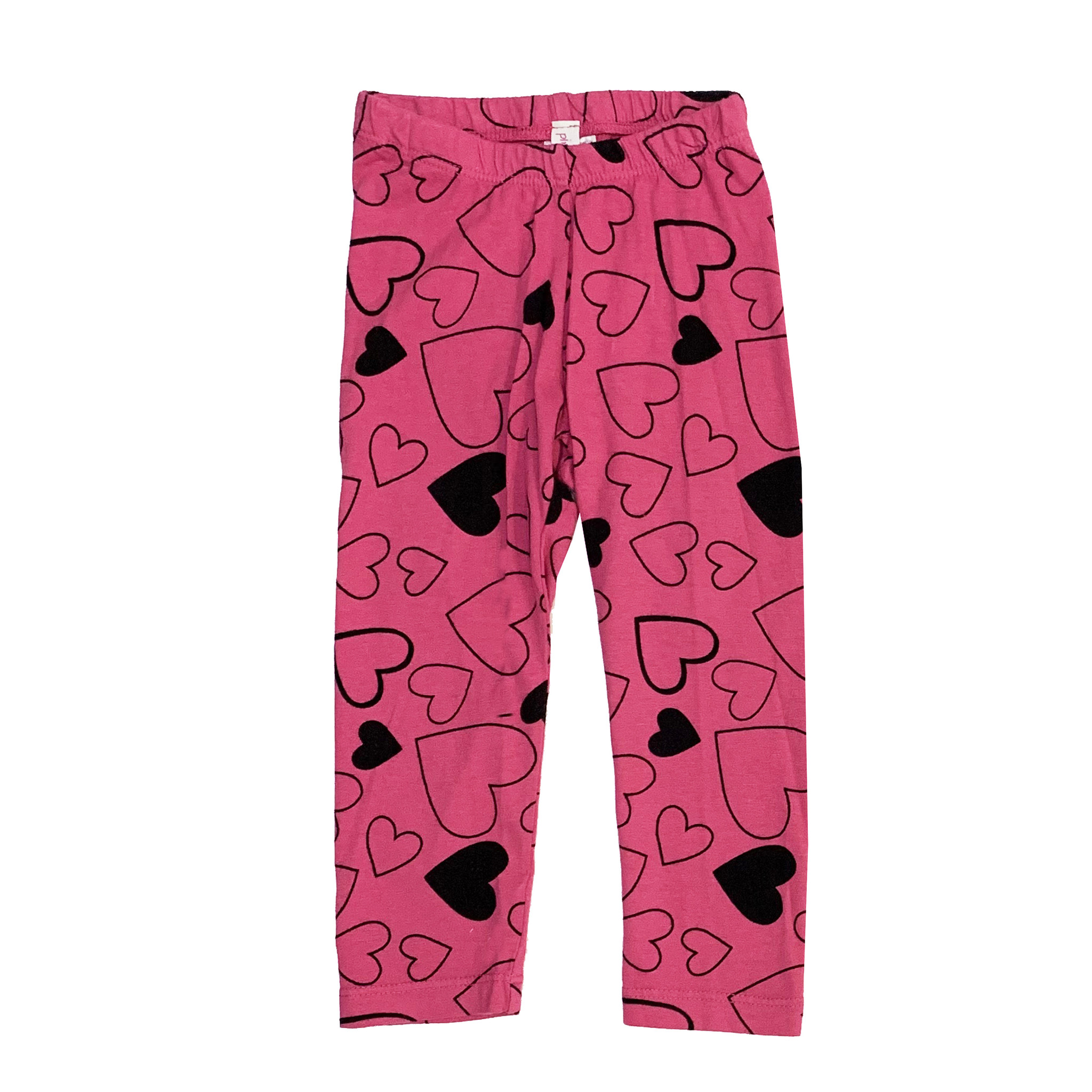 Pink Peony Hot Pink Confetti Love Leggings