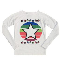 Firehouse Colorful Star Sweat Top