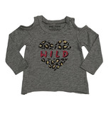 Small Change Wild Heart Cold Shoulder Top