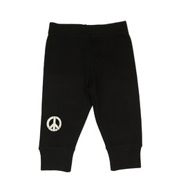 Small Change Pant with White Peace Sign