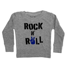 Small Change Grey Rock & Roll Peace Hand Thermal