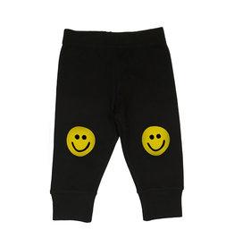 Small Change Yellow Smiley Knee Pants