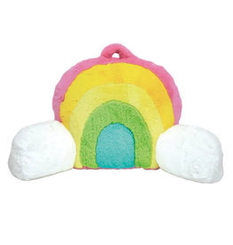 Furry Rainbow Lounge Pillow