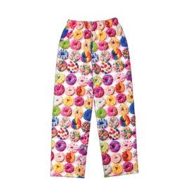 Donut Print Plush Lounge Pants