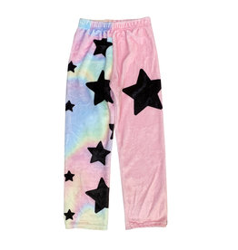 Penelope Wildberry Pastel Star Plush Lounge Pants