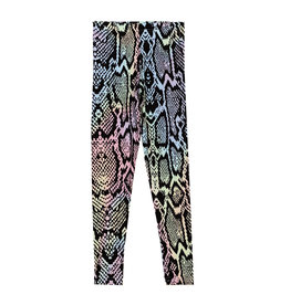 Penelope Wildberry Pastel Snake Legging