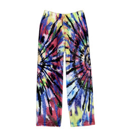 Penelope Wildberry Multi Tie Dye Plush Lounge Pants