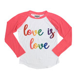 Firehouse Love is Love Baseball Top
