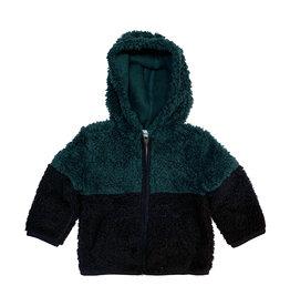 Splendid Hunter & Navy Sherpa Jacket