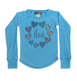 Sparkle Turquoise Love All Around Thermal