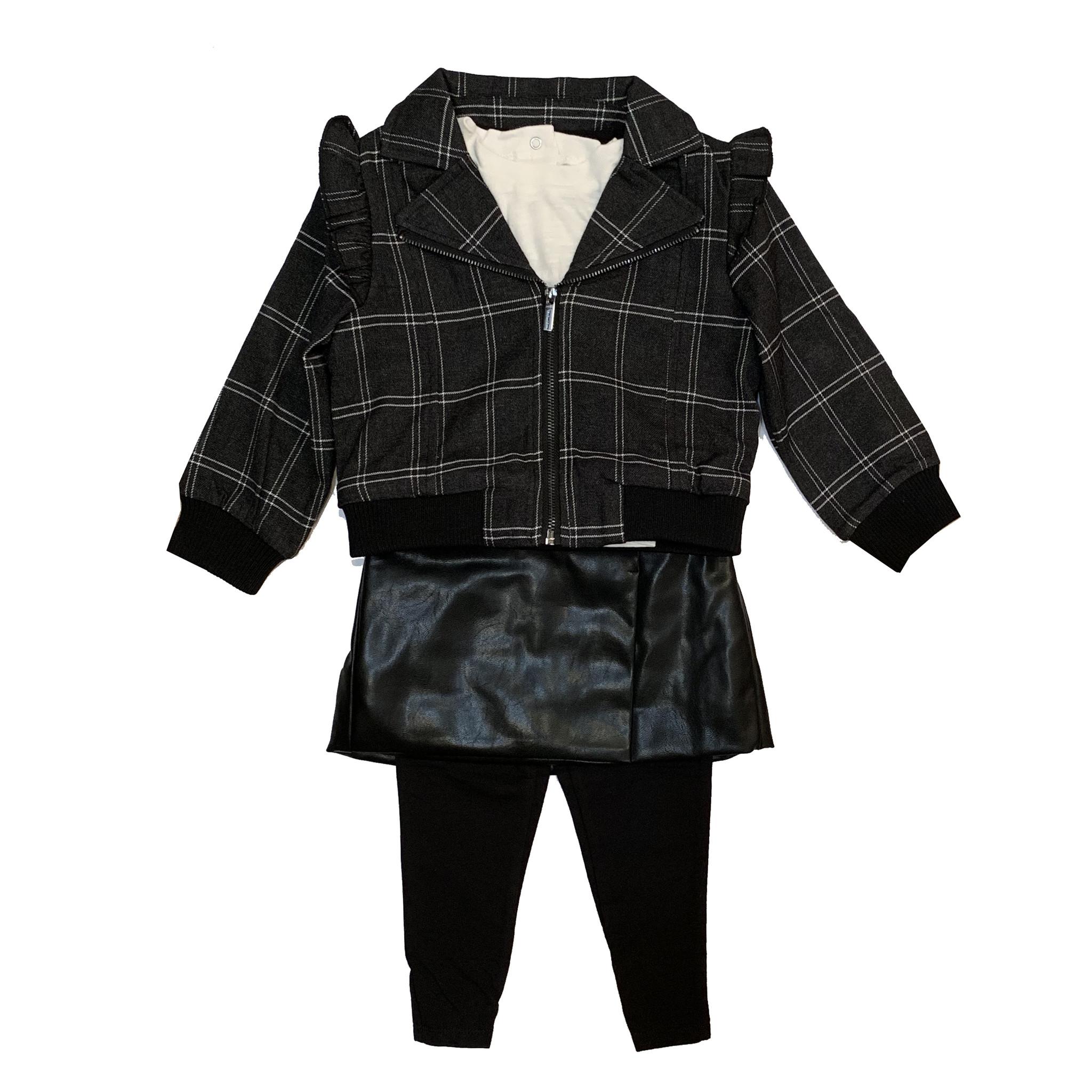 Habitual Skirted Legging & Jacket Set