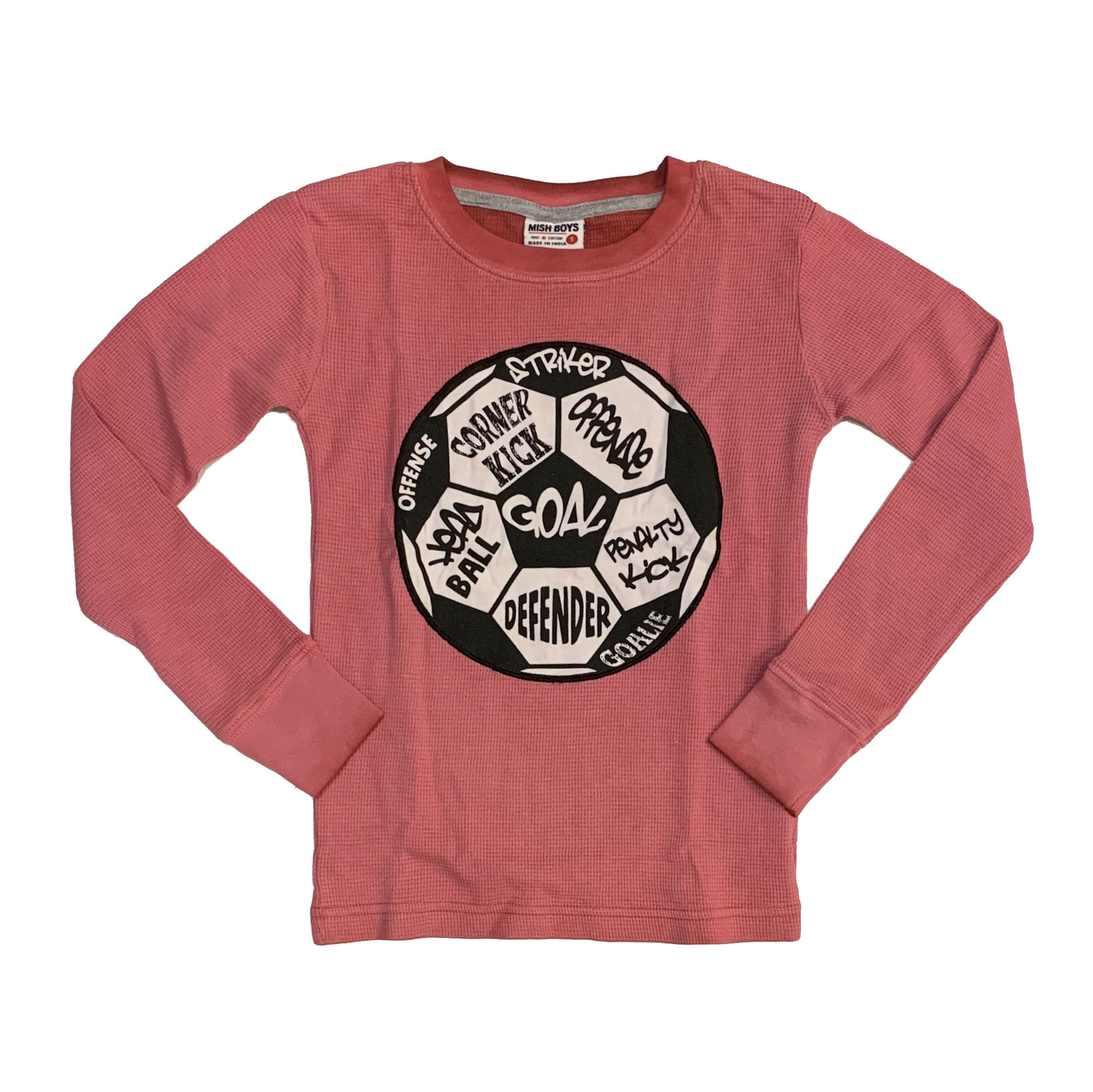 Mish Faded Red Soccer Thermal